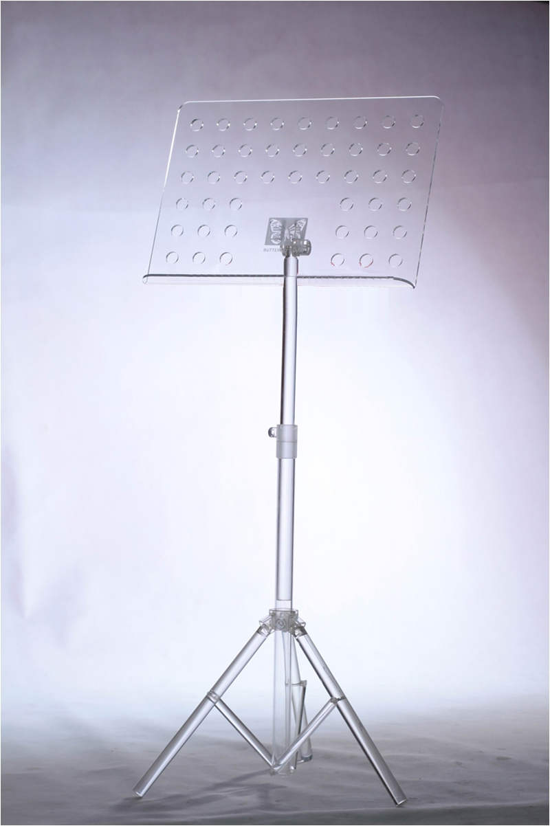 Transparent Music Stand