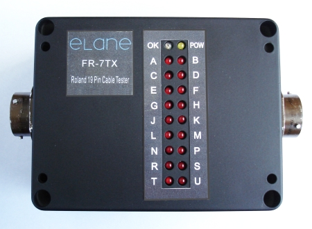Roland 19 Pin Cable Tester