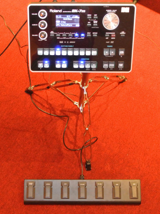 Elane Seven Switch with Roland BK-7m