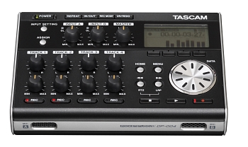 Tascam DP-004 4-Track Digital Recorder